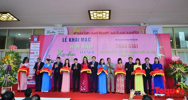 Khai mạc Hội báo xuân Kỷ Hợi - Hà Nội năm 2019 - Ảnh 1.