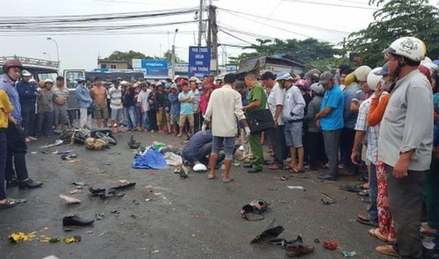 Tình trạng sức khỏe nạn nhân bị thương trong vụ tai nạn ở Long An 4 người chết - Ảnh 3.