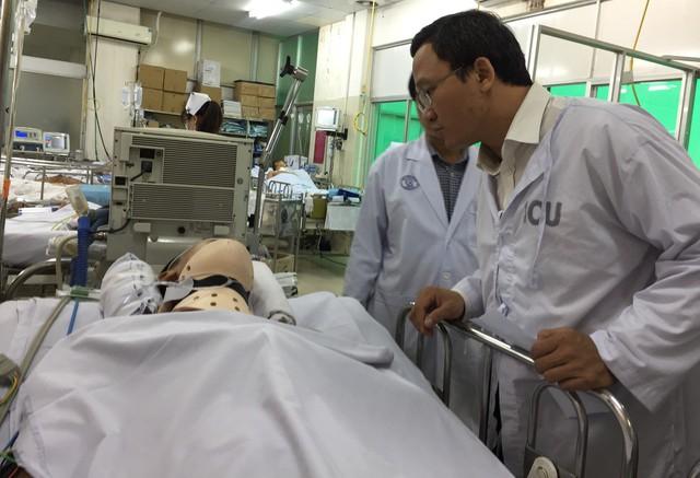 Tình trạng sức khỏe nạn nhân bị thương trong vụ tai nạn ở Long An 4 người chết - Ảnh 1.