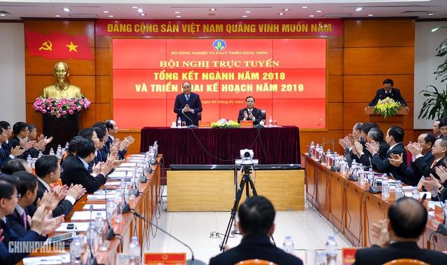 Thủ tướng dự hội nghị triển khai nhiệm vụ 2019 của Bộ NN&PTNT - Ảnh 1.