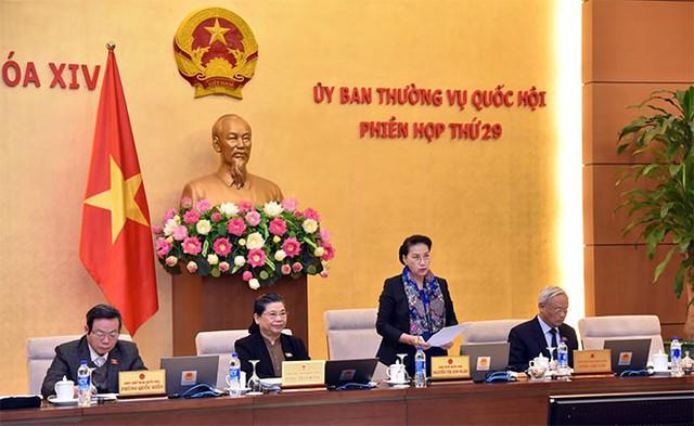 Phân công chuẩn bị Phiên họp thứ 30, 31 của Ủy ban Thường vụ Quốc hội - Ảnh 1.