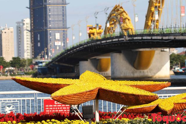 Người dân và du khách mê mẩn đường hoa Đà Nẵng Tết Kỷ Hợi 2019 - Ảnh 6.