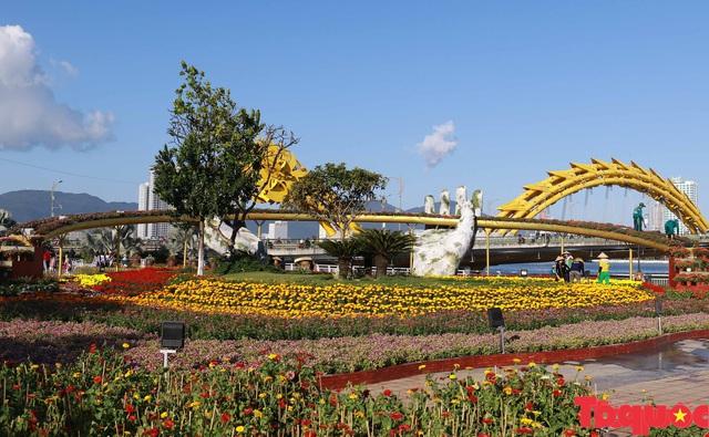 Người dân và du khách mê mẩn đường hoa Đà Nẵng Tết Kỷ Hợi 2019 - Ảnh 5.