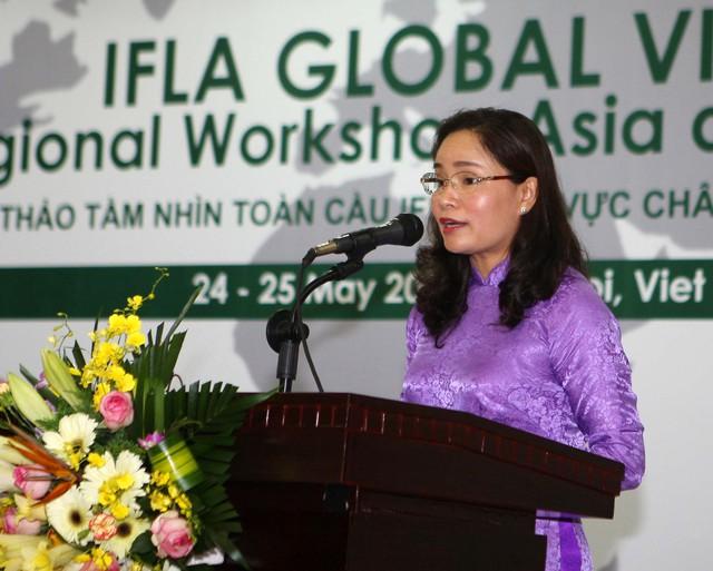 Thứ trưởng Trịnh Thị Thủy: Lễ hội cần góp phần bảo tồn phát huy những nét đẹp, các giá trị văn hóa truyền thống của cộng đồng các dân tộc - Ảnh 3.