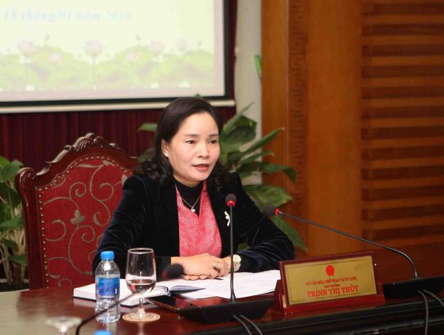 Thứ trưởng Trịnh Thị Thủy: Lễ hội cần góp phần bảo tồn phát huy những nét đẹp, các giá trị văn hóa truyền thống của cộng đồng các dân tộc - Ảnh 1.