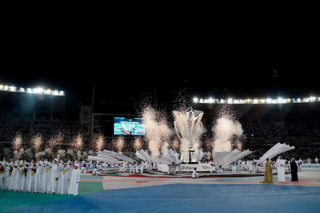 Những hình ảnh hoành tráng tại lễ khai mạc Asian Cup 2019 - Ảnh 4.