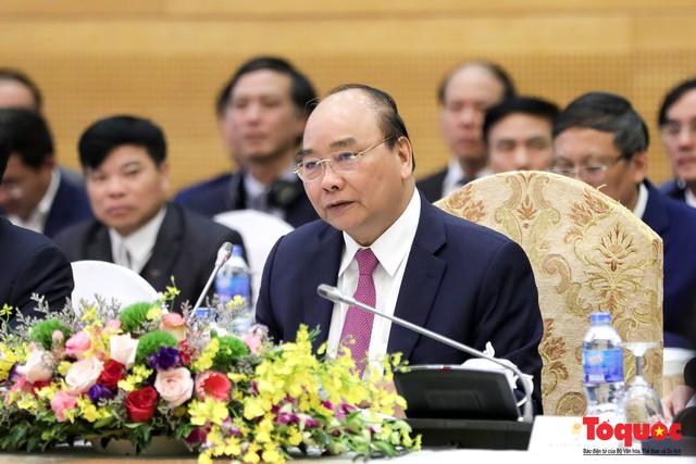 Thủ tướng Nguyễn Xuân Phúc và Thủ tướng CHDCND Lào đồng chủ trì Kỳ họp 41 Ủy ban Liên Chính phủ Việt Nam - Lào - Ảnh 3.