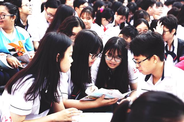 Ngày hội tư vấn tuyển sinh - hướng nghiệp 2019 tại TP. Hồ Chí Minh - Ảnh 1.