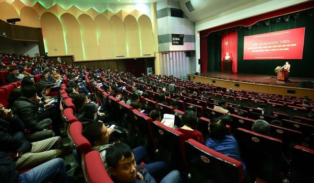 Đảng ủy Bộ VHTTDL tổ chức Hội nghị quán triệt các nội dung Hội nghị lần thứ 8 BCH Trung ương Đảng khóa XII - Ảnh 2.