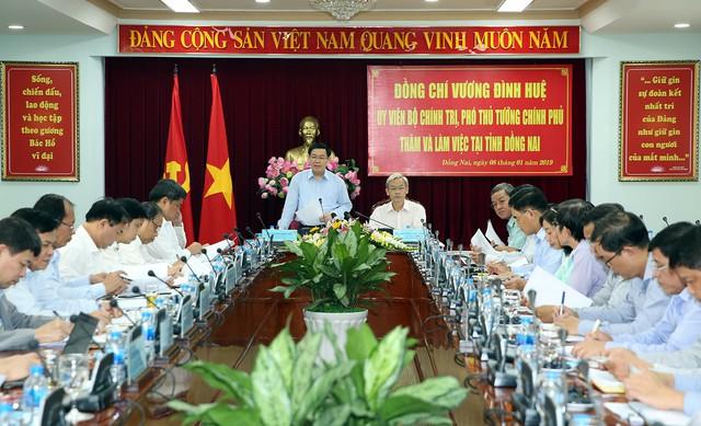 Phó Thủ tướng đề nghị Đồng Nai tiếp tục thu hút các doanh nghiệp có công nghệ cao  - Ảnh 1.