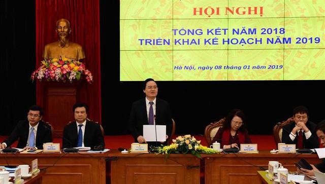 Bộ trưởng Phùng Xuân Nhạ: Năm 2019 là năm có nhiều bước chuyển quan trọng của ngành Giáo dục - Ảnh 1.