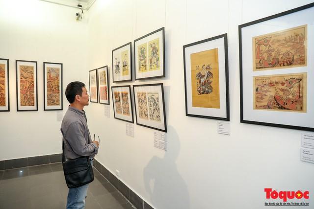 """Khai mạc triển lãm """"Tranh dân gian Đông hồ xưa và nay"""": Trưng bày hơn 100 hiện vật của tranh dân gian Đông Hồ - Ảnh 14."""