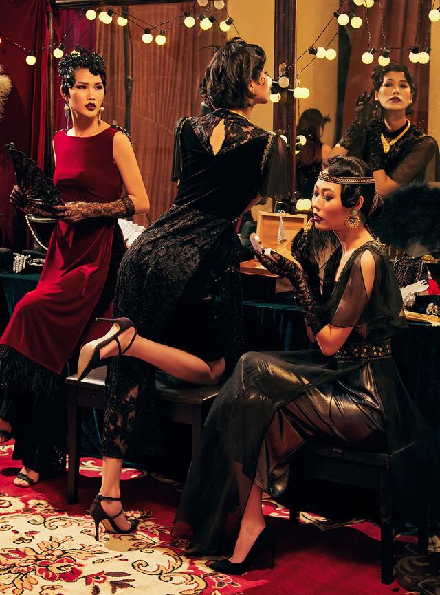 Quán quân Next Top Model Mai Giang mặc áo dài lấy cảm hứng từ tuxedo  - Ảnh 8.