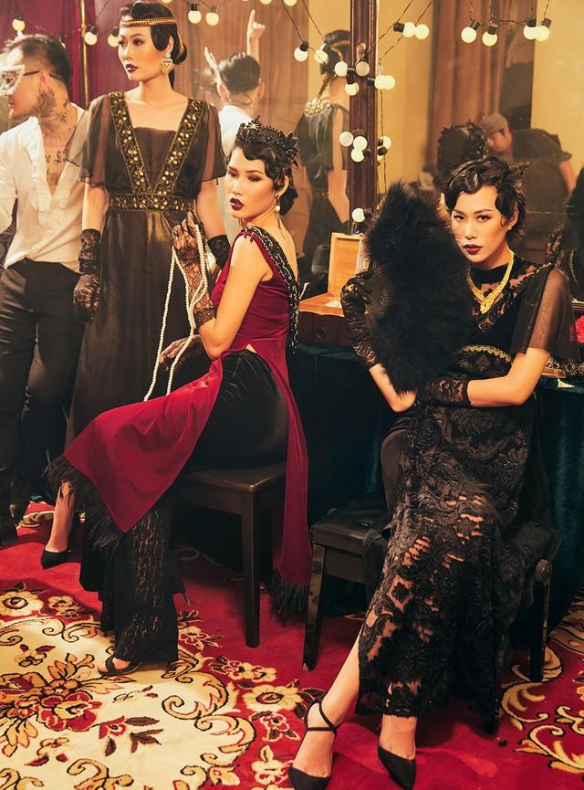 Quán quân Next Top Model Mai Giang mặc áo dài lấy cảm hứng từ tuxedo  - Ảnh 11.