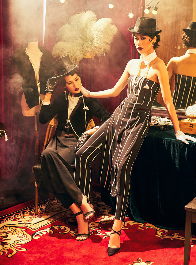 Quán quân Next Top Model Mai Giang mặc áo dài lấy cảm hứng từ tuxedo  - Ảnh 13.