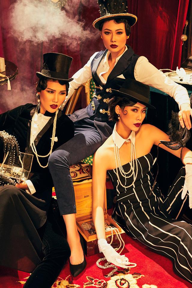 Quán quân Next Top Model Mai Giang mặc áo dài lấy cảm hứng từ tuxedo  - Ảnh 15.