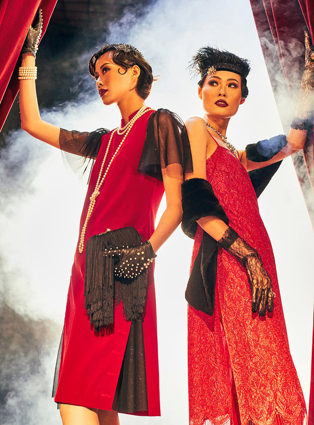 Quán quân Next Top Model Mai Giang mặc áo dài lấy cảm hứng từ tuxedo  - Ảnh 17.