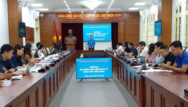 100 đại biểu Bộ VHTTDL dự tập huấn sử dụng phần mềm quản lý công đoàn viên - Ảnh 2.