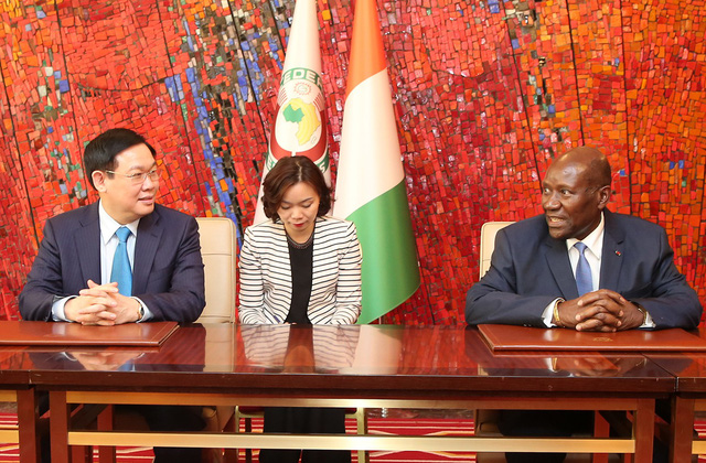 Phó Thủ tướng Vương Đình Huệ: Tiềm năng hợp tác giữa hai nước Việt Nam – Bờ Biển Ngà rất lớn - Ảnh 2.