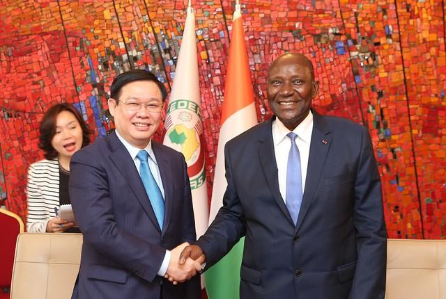 Phó Thủ tướng Vương Đình Huệ: Tiềm năng hợp tác giữa hai nước Việt Nam – Bờ Biển Ngà rất lớn - Ảnh 1.