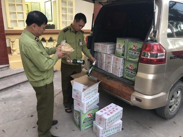 Phát hiện 620 kg củ cải đã qua sơ chế nhập lậu từ Trung Quốc - Ảnh 1.