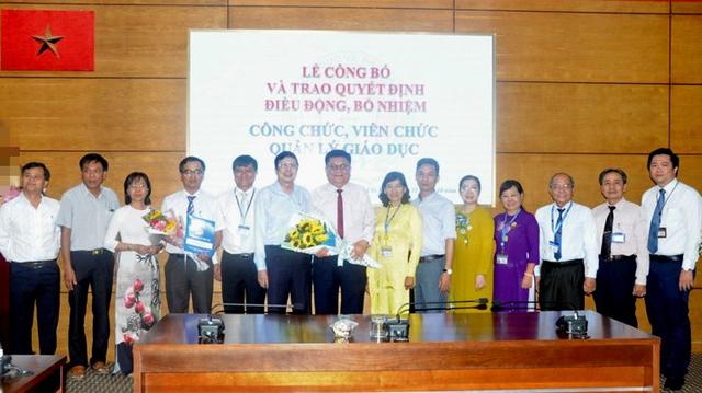 TP. Hồ Chí Minh: Công bố và trao quyết định bổ nhiệm các cán bộ quản lý  - Ảnh 1.