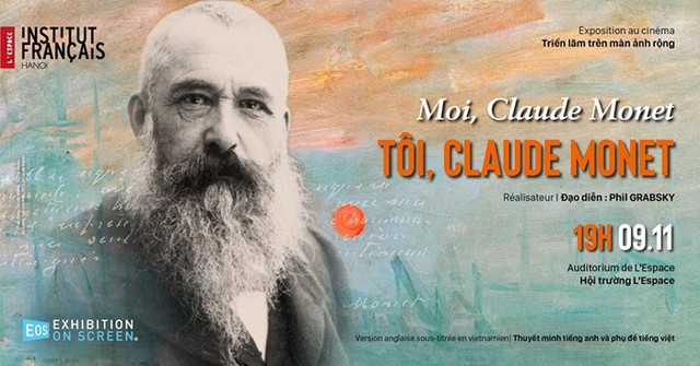 """Trải nghiệm điện ảnh ấn tượng với """"Tôi, Claude Monet"""" - Ảnh 1."""