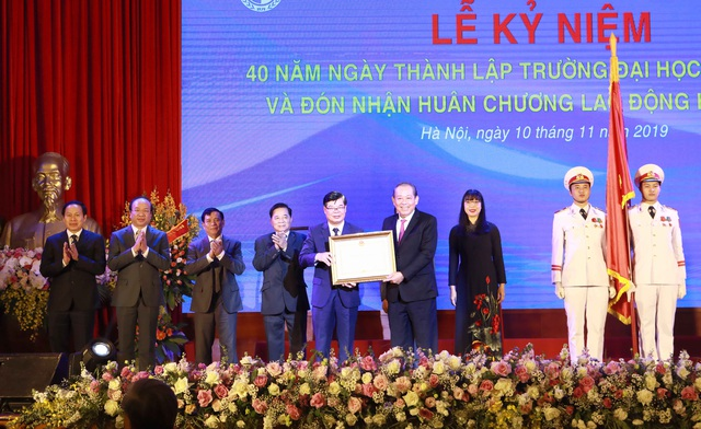 Phó Thủ tướng Trương Hòa Bình: Đại học Luật Hà Nội là  cơ sở đào tạo, nghiên cứu cơ bản về pháp luật hàng đầu ở Việt Nam - Ảnh 1.