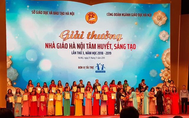 Hà Nội tuyên dương khen thưởng nhà giáo mẫu mực tiêu biểu của Thủ đô - Ảnh 3.