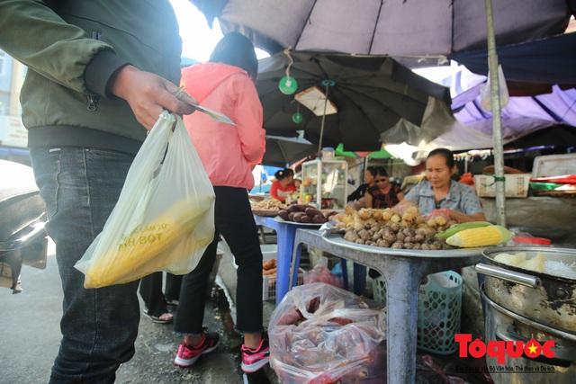 Khu chợ nói không dùng túi nilon đầu tiên tại miền Bắc - Ảnh 13.