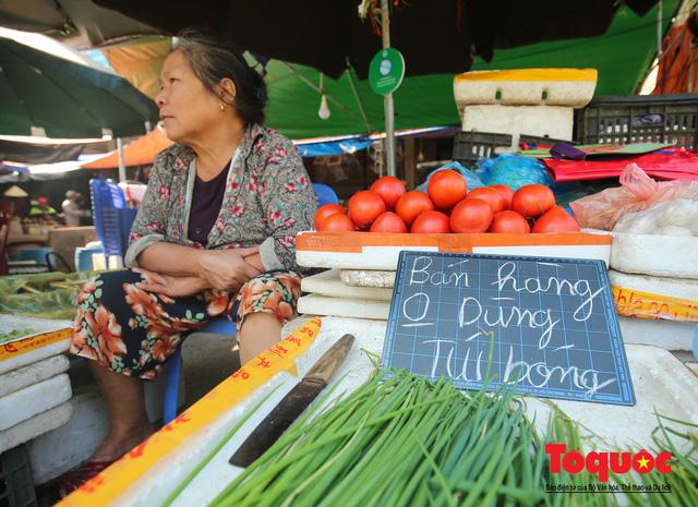 Khu chợ nói không dùng túi nilon đầu tiên tại miền Bắc - Ảnh 12.