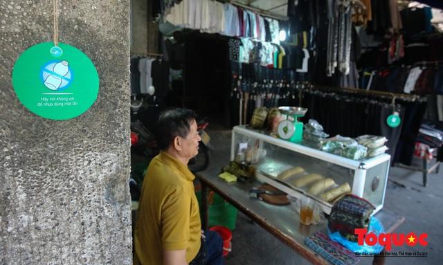 Khu chợ nói không dùng túi nilon đầu tiên tại miền Bắc - Ảnh 10.