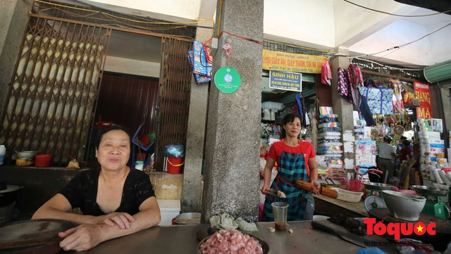 Khu chợ nói không dùng túi nilon đầu tiên tại miền Bắc - Ảnh 7.