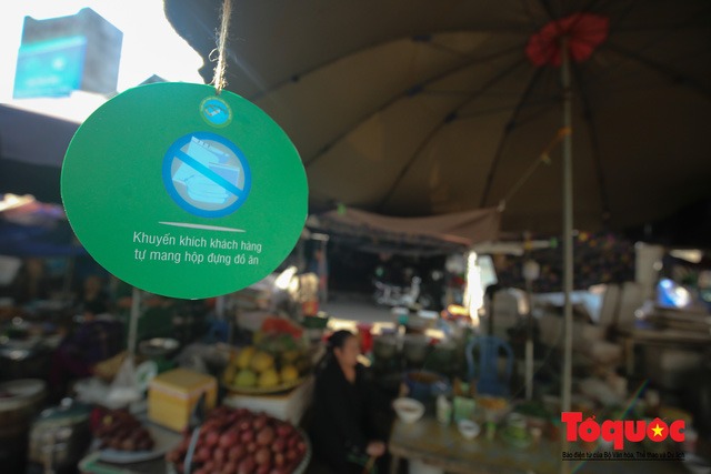 Khu chợ nói không dùng túi nilon đầu tiên tại miền Bắc - Ảnh 5.