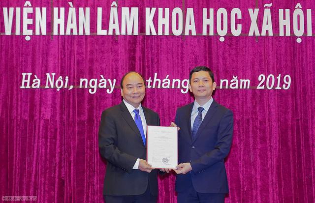 Viện Hàn lâm Khoa học Xã hội Việt Nam có tân Chủ tịch - Ảnh 1.