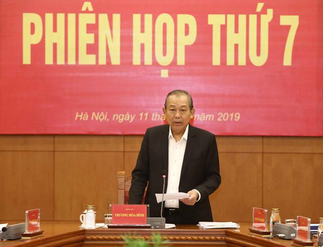 Phó Thủ tướng Thường trực Trương Hòa Bình chủ trì phiên họp Ban Chỉ đạo Cải cách tư pháp Trung ương - Ảnh 1.