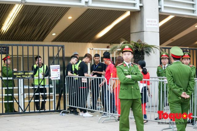 """An ninh """"nhiều lớp"""" được triển khai trước trận Việt Nam - UAE thuộc vòng loại thứ 2 Word Cup 2022 - Ảnh 6."""