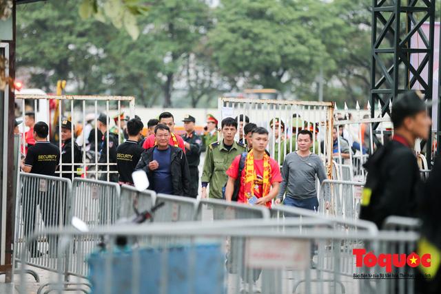 """An ninh """"nhiều lớp"""" được triển khai trước trận Việt Nam - UAE thuộc vòng loại thứ 2 Word Cup 2022 - Ảnh 2."""
