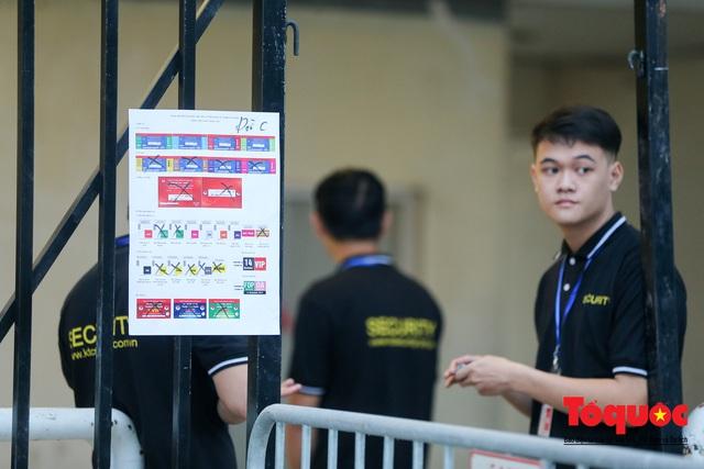 """An ninh """"nhiều lớp"""" được triển khai trước trận Việt Nam - UAE thuộc vòng loại thứ 2 Word Cup 2022 - Ảnh 4."""