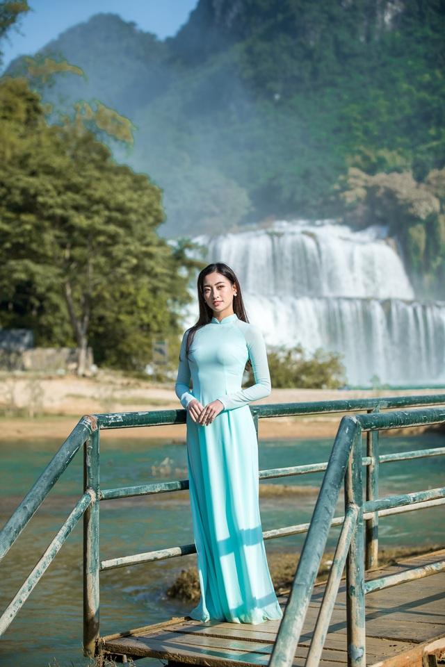 Hoa hậu Lương Thùy Linh hóa thiếu nữ dân tộc Tày đi chăn ngựa - Ảnh 3.