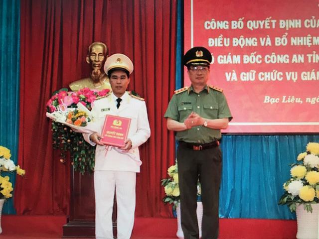 Bạc Liêu có tân Giám đốc Công an tỉnh - Ảnh 1.