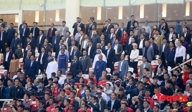 Thủ tướng, Chủ tịch Quốc hội dự khán trận đấu Việt Nam và UAE tại vòng loại World Cup 2022 - Ảnh 1.