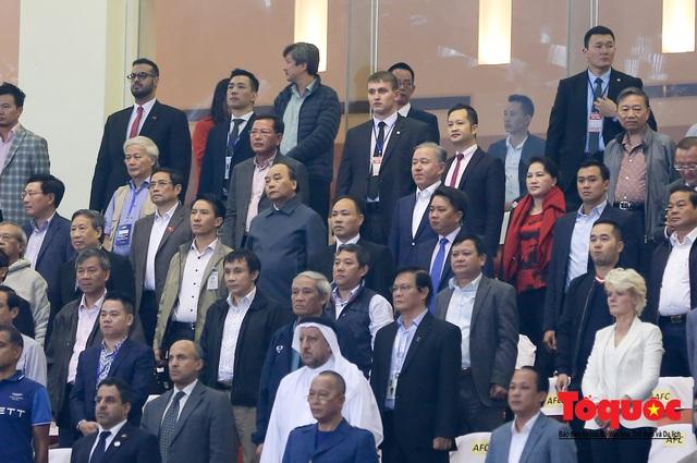Thủ tướng, Chủ tịch Quốc hội dự khán trận đấu Việt Nam và UAE tại vòng loại World Cup 2022 - Ảnh 2.