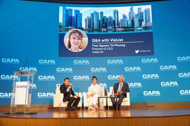 CAPA lựa chọn Vietjet là hãng hàng không chi phí thấp dẫn đầu tại Châu Á Thái Bình Dương   - Ảnh 2.