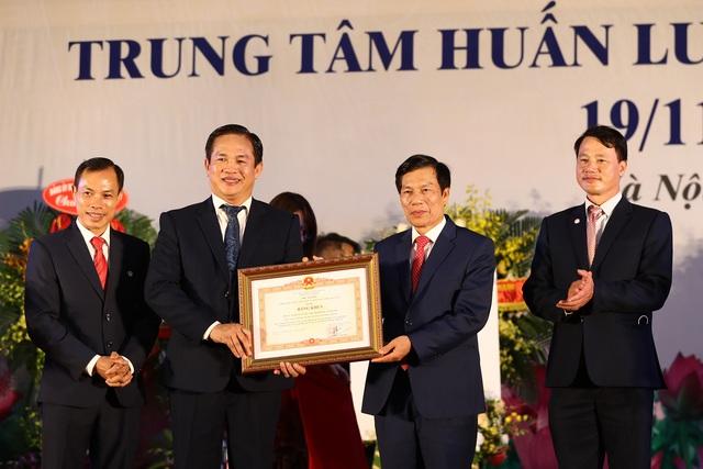 Bộ trưởng Nguyễn Ngọc Thiện: Trung tâm Huấn luyện thể thao quốc gia Hà Nội đã đóng góp rất lớn cho Thể thao Việt Nam - Ảnh 6.