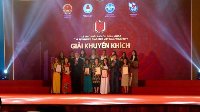 """Trao Giải báo chí """"Vì sự nghiệp Giáo dục Việt Nam"""" năm 2019, chính thức phát động Giải năm 2020 - Ảnh 2."""