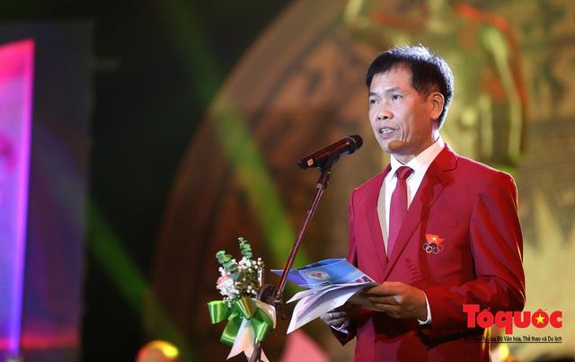 Chùm ảnh: Lễ xuất quân Đoàn Thể thao Việt Nam tham dự SEA Games 30 - Ảnh 6.
