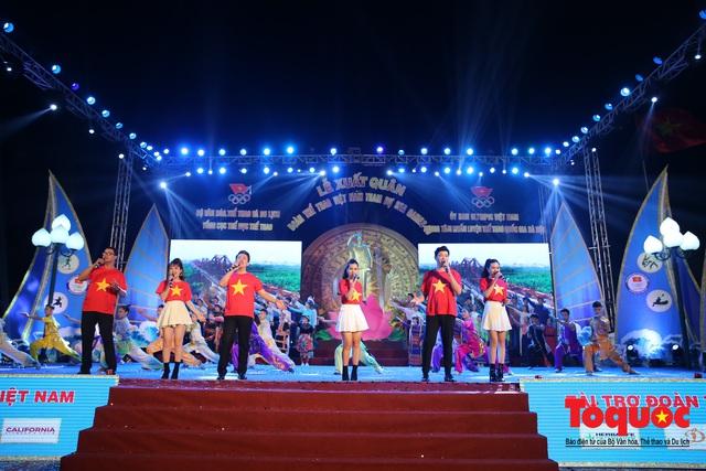Chùm ảnh: Lễ xuất quân Đoàn Thể thao Việt Nam tham dự SEA Games 30 - Ảnh 15.