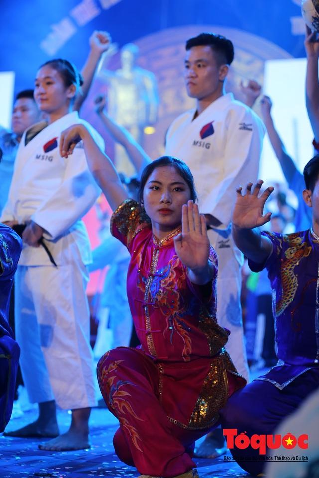 Chùm ảnh: Lễ xuất quân Đoàn Thể thao Việt Nam tham dự SEA Games 30 - Ảnh 16.