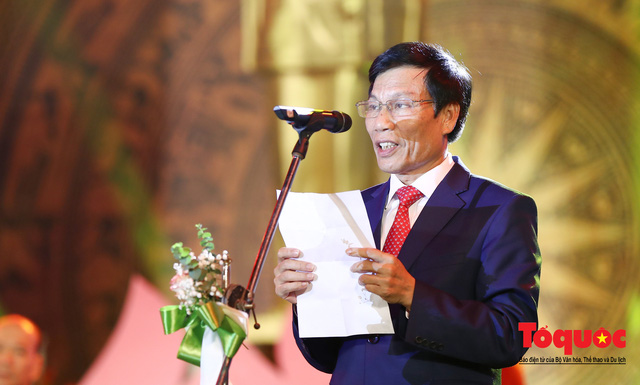 Chùm ảnh: Lễ xuất quân Đoàn Thể thao Việt Nam tham dự SEA Games 30 - Ảnh 7.